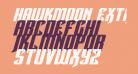 Hawkmoon Extra-expanded Italic