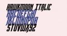 Hawkmoon Italic