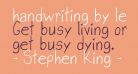 handwriting by lev