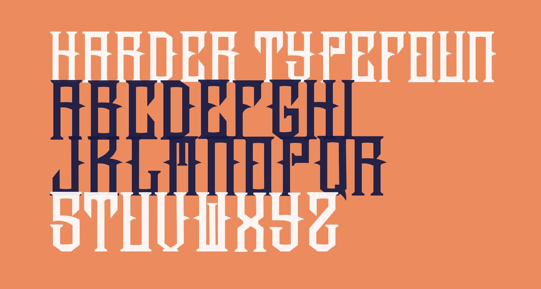 harder typefoundry