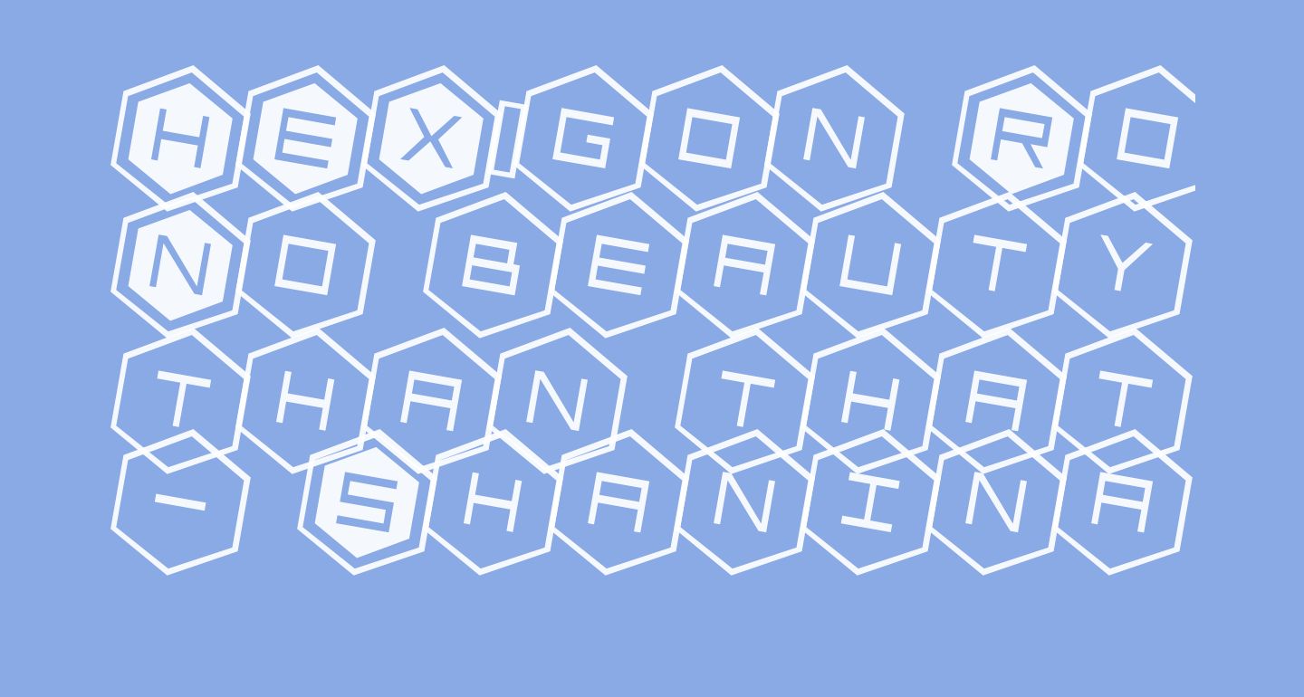 HEX:gon Rotated 2