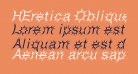 HEretica Oblique