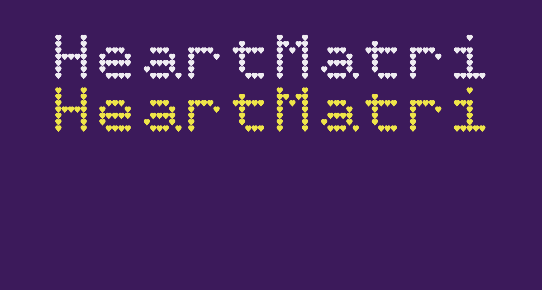 HeartMatrixed