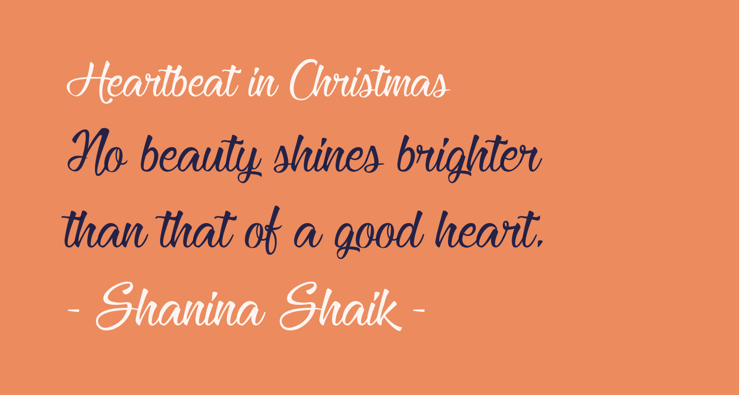 Heartbeat in Christmas