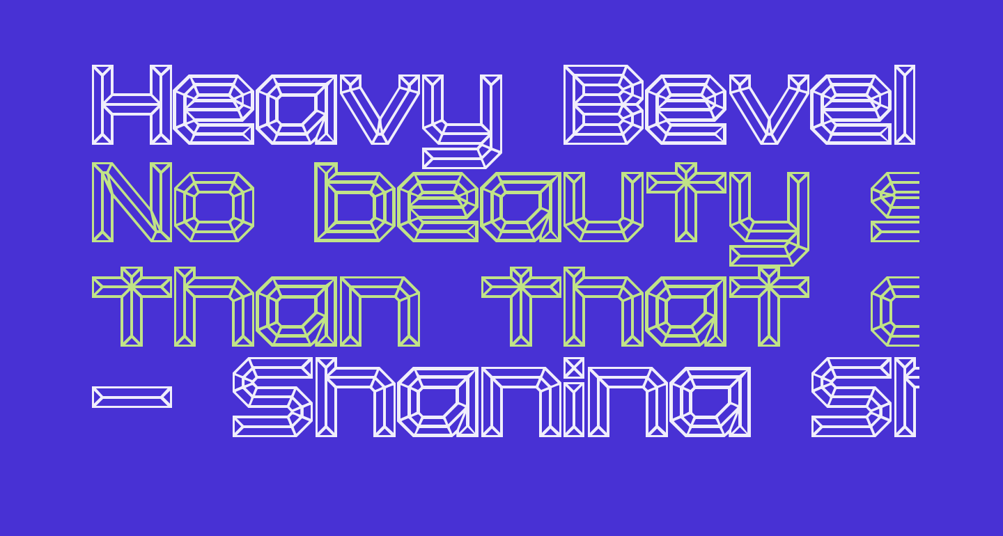 Heavy Bevel [BRK]
