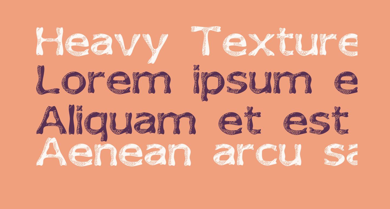 Heavy Texture