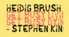 Heidig Brush