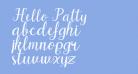 Hello Patty