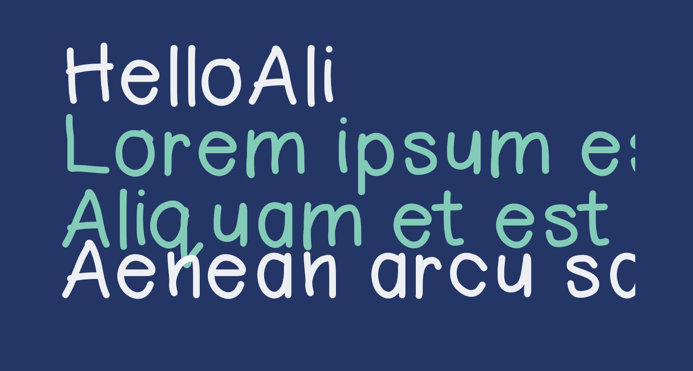 HelloAli