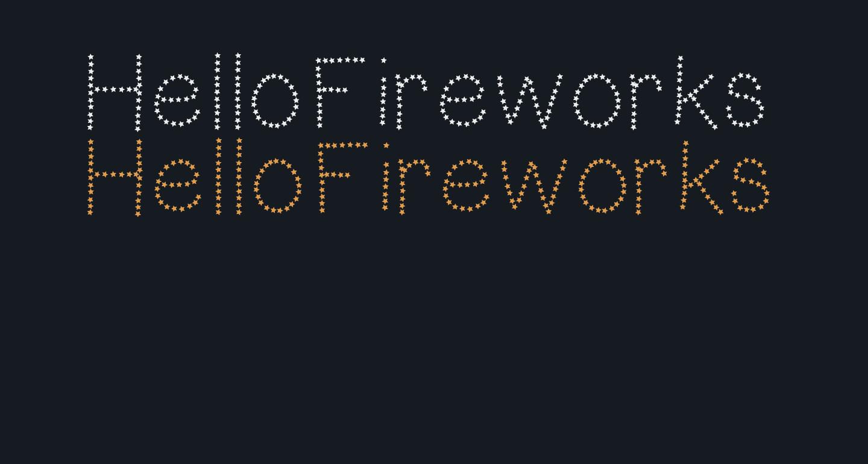HelloFireworks