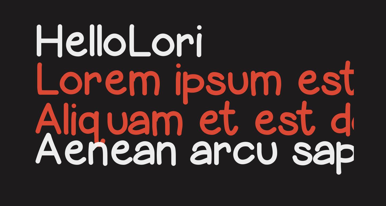 HelloLori