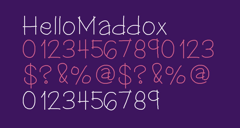 HelloMaddox