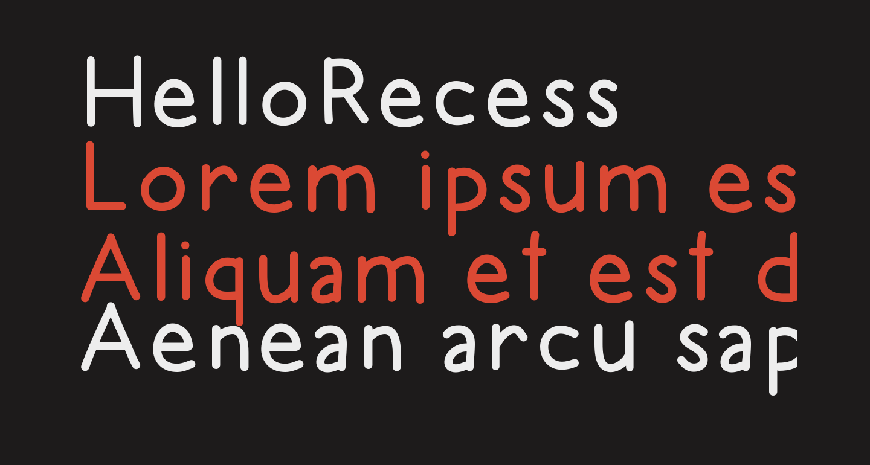 HelloRecess