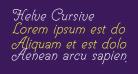 Helve Cursive