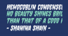 Hemogoblin Condensed Italic