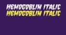 Hemogoblin Italic
