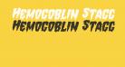 Hemogoblin Staggered Italic