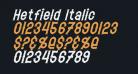 Hetfield Italic