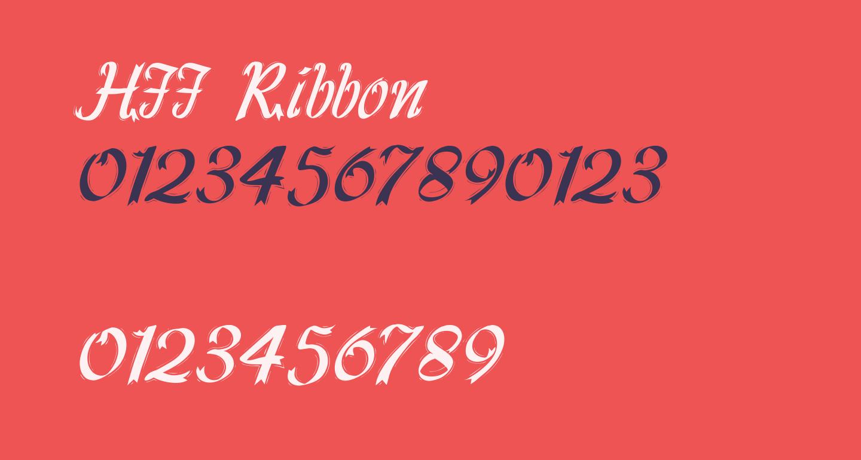 HFF Ribbon