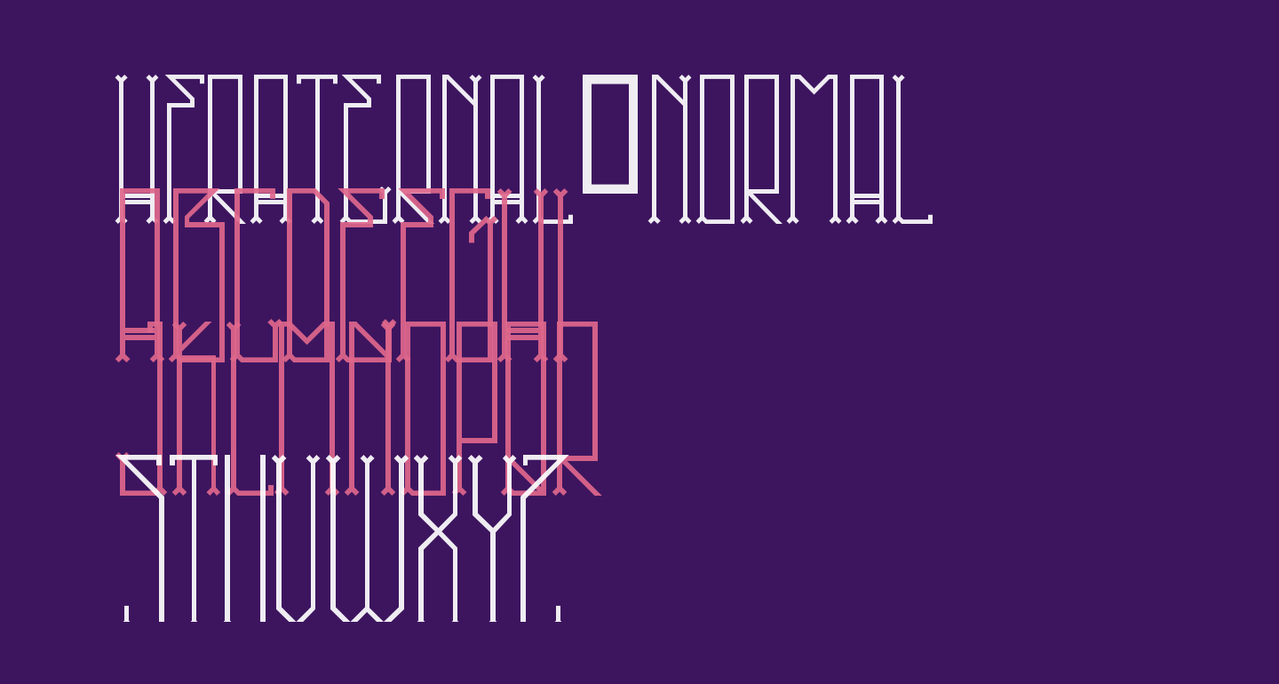 HFraternal-Normal