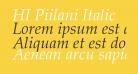HI Piilani Italic