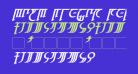 High Drowic Bold Italic