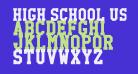 High School USA Serif