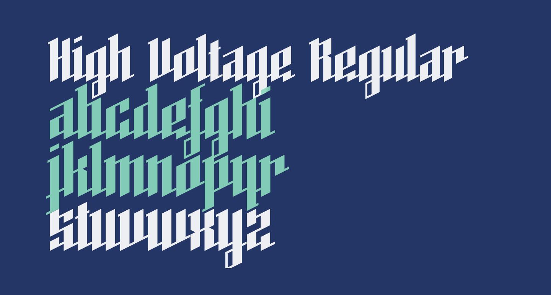 High Voltage Regular