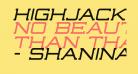 Highjack-Italic