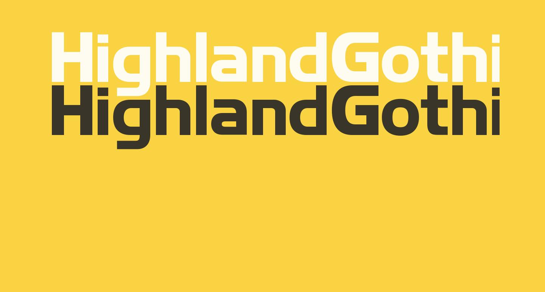 HighlandGothicFLF-Bold