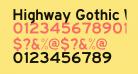 Highway Gothic Wide