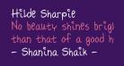 Hilde Sharpie