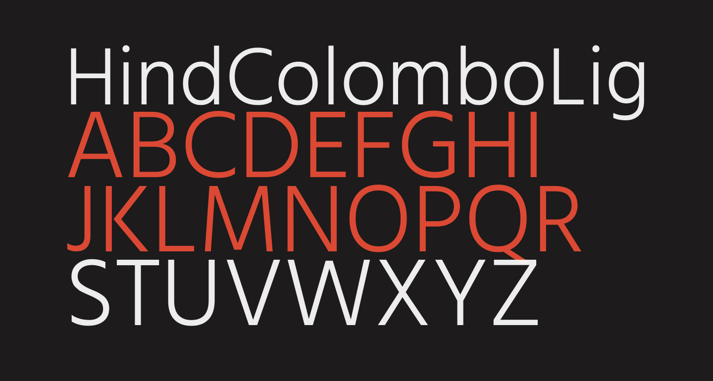 Hind Colombo Light