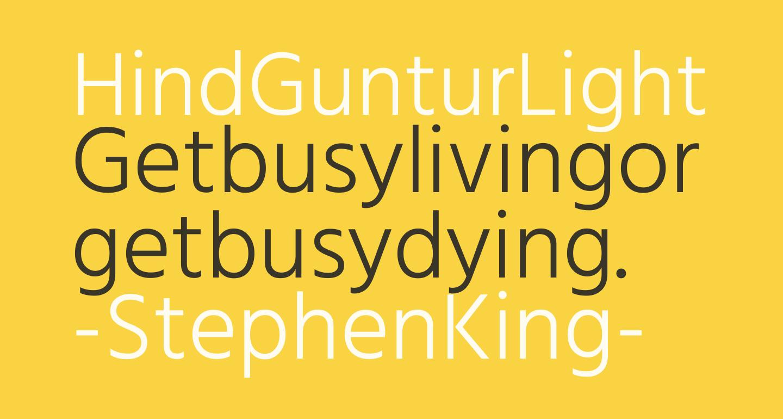 Hind Guntur Light
