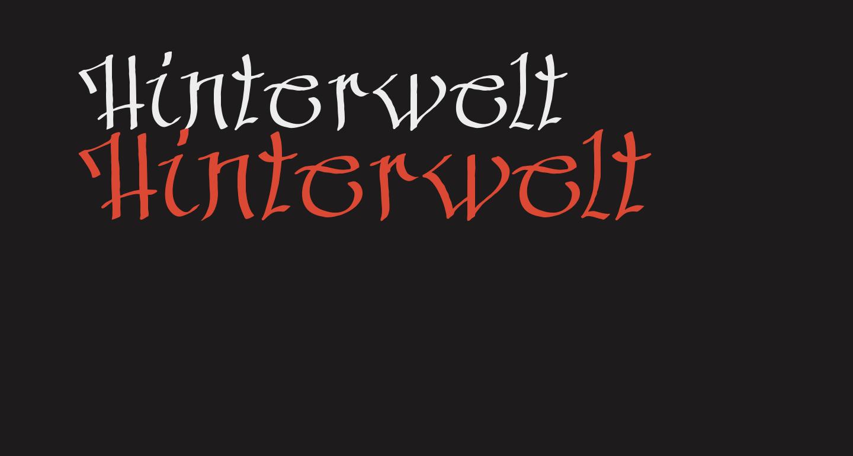 Hinterwelt