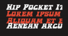 Hip Pocket Italic