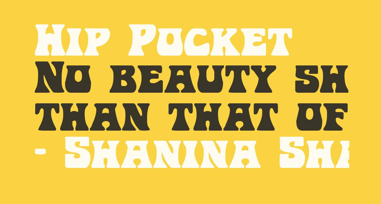 Hip Pocket