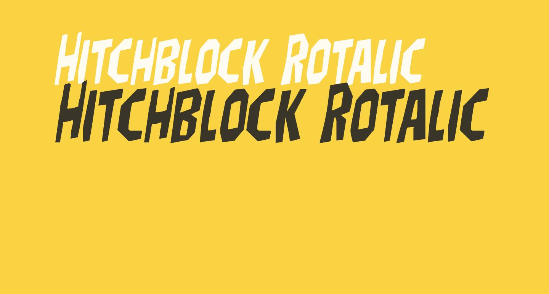 Hitchblock Rotalic