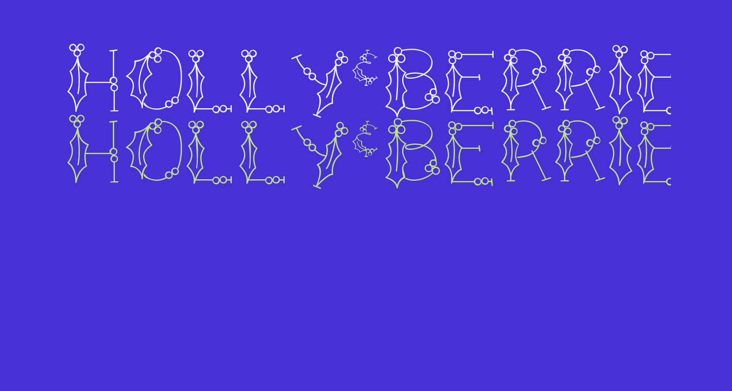 HOLLY&BERRIE Bold