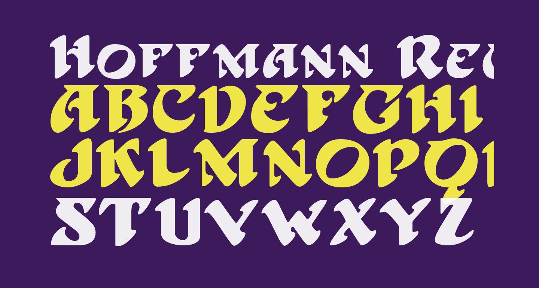 Hoffmann Regular