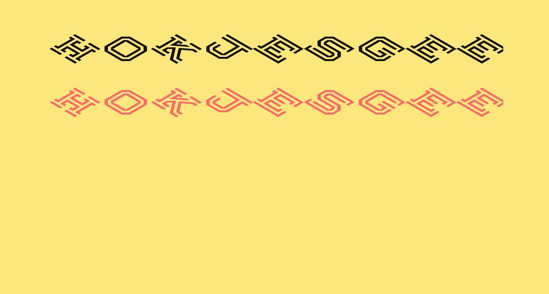 Hokjesgeestcube Bold