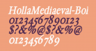 HollaMediaeval-BoldOblique