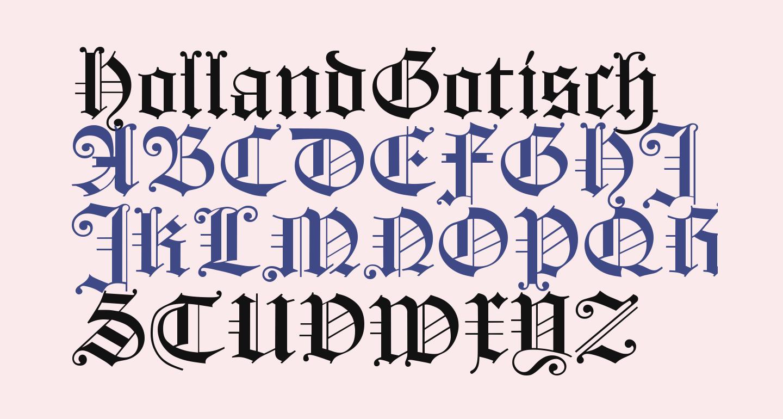 HollandGotisch
