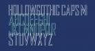 HollowGothic Caps Medium