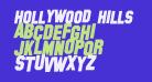 Hollywood Hills Bold Italic