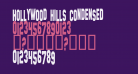 Hollywood Hills Condensed