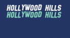 Hollywood Hills Italic