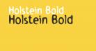 Holstein Bold