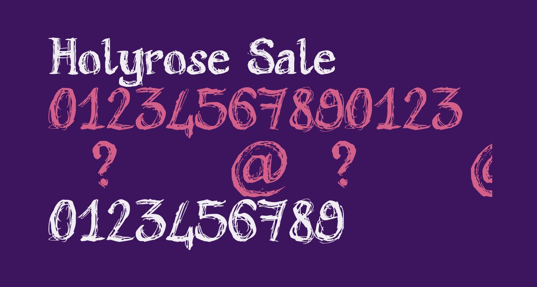 Holyrose Sale
