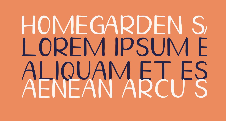 Homegarden Sans